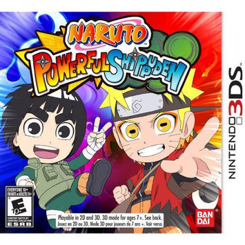mco Video Games Naruto Powerful Shippuden Video Game for Nintendo 3DS