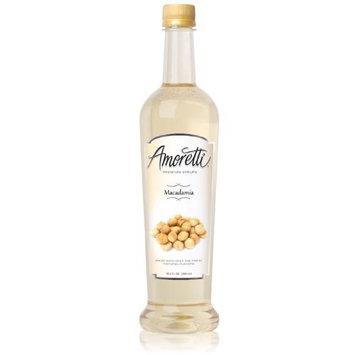Amoretti Premium Syrup, Macadamia, 25.4 Ounce