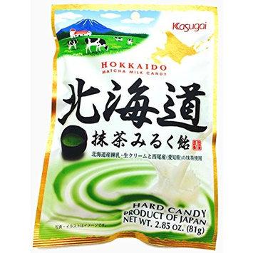 Kasugai Japan Hokkaido Matcha Milk Candy 81g x 12 bags