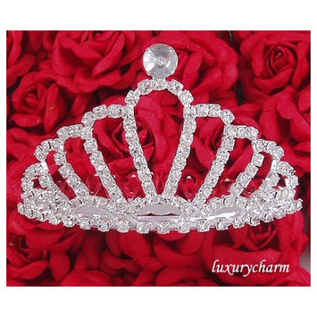 HALLOWEEN COSTUME Wedding Prom Party Tiara Comb H32