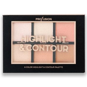 Profusion Cosmetics Highlight & Contour Palette - 4.2oz
