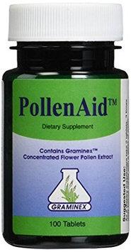 Graminex, Llc PollenAid Flower Pollen Extract by Graminex - 100 Tablets
