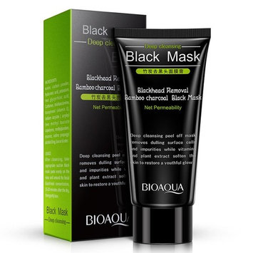 Bamboo Charcoal Blackhead Remove Mask Moisturizing Clean Nasal Paste for T-area care