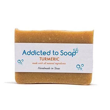 Addicted to Soap – Turmeric Soap | Specially Formulated – All Natural Ingredients for Perfectly Clean Skin and a Beautifully Refreshing Scent - Handmade with Love in Texas
