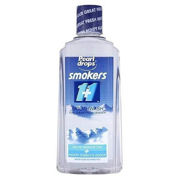 Pearl Drops Smokers Mouthwash 400 Ml [Health and Beauty]