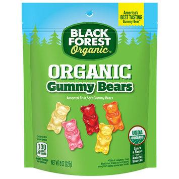Black Forest Organic Gummy Bears Candy, 8 Oz