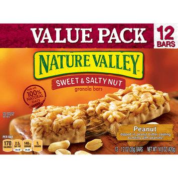 Nature Valley Granola Bars  Sweet and Salty Nut, Peanut, 12 Bars - 1.2 oz
