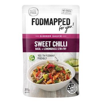 Fodmapped Foods Llc Sweet Chili, Lemongrass & Basil Stir Fry Simmer Sauce