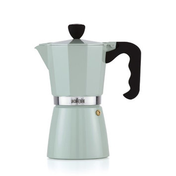 La Cafetiere 9 Cup Pistachio Espresso Coffee Maker