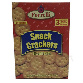 Forrelli Butter Snack Crackers, 8.8 oz.