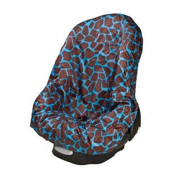 Wupzey Car Seat Cover, Blue Giraffe