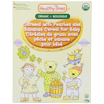 Healthy Times Organic Oatmeal with Bananas Cereal for Baby, 8 Ounce