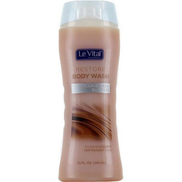 Le Vital 2122787 Body Wash - Restore - Cocoa & Shea Butter - Case of 12