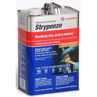 Savogran Gallon Strypeeze Paint Remover 01103 (Set of 4)
