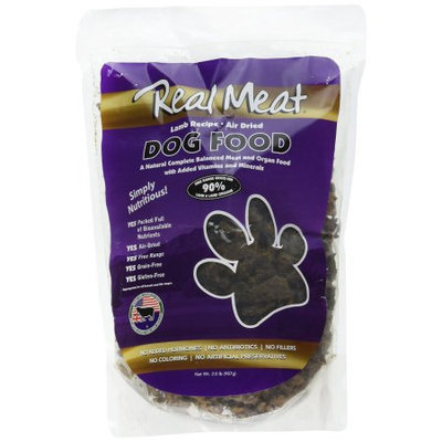 Real Meat Co Real Meat 70102 Lamb Dog Food - 2 Pound Bag