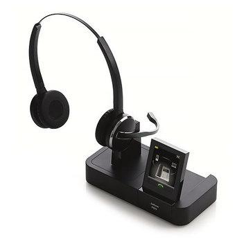 Jabra PRO9465 Duo Wireless Headset w/ New DECT 6.0 Tech- Comparable to Plantronics Savi W720