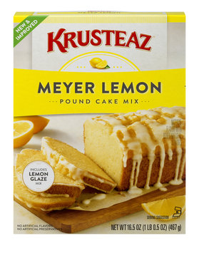Krusteaz Pound Cake Mix Meyer Lemon