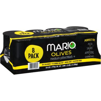 Mario Camacho Foods, Llc Mario ® Medium Pitted Black Olives 8-6 oz. Cans