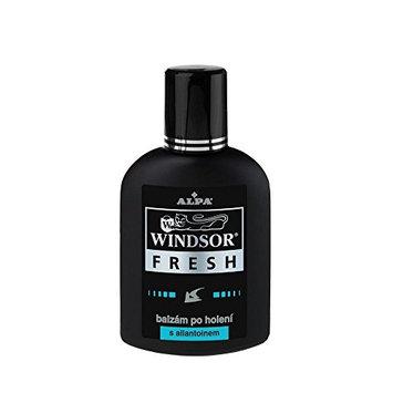ALPA Czech WINDSOR FRESH (black) w/ Allantoin After Shave Lotion 100 ml Wood Citrus Fragrance 1 PACK