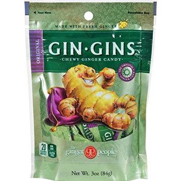 Ginger People Original Ginger Chews 3oz Bag [Ginger]
