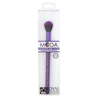Royal and Langnickel Moda Highlight and Glow Professional Makeup Brush