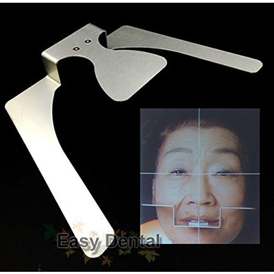 Dental Occlusal Maxillary Casting Jaw Fox Plane Plate Complete Denture