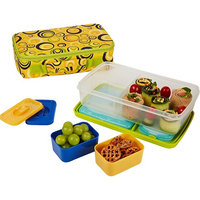 Fit & Fresh Bento 6 Piece Lunch Box Set