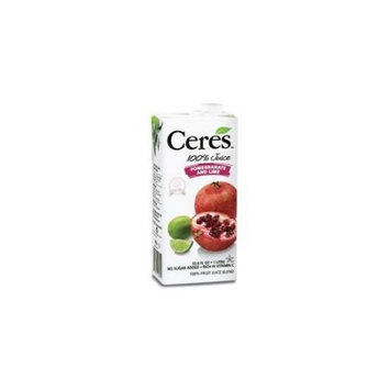 Ceres Juices Ceres Juice Pomegranate And Lime 33.8-Ounce (Pack of 12)