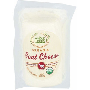Whole Foods Market Organic Fresh Goat Cheese, 4 oz