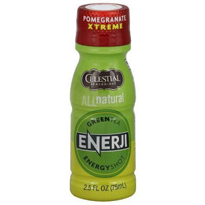 Celestial Seasonings Tea Grn Energy Shot Pom Xtrme, Pack of 12