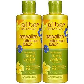 Pack of 1 x Alba Botanica Hawaiian Kona Coffee After-Sun Lotion - 8.5 fl oz by Alba Botanica