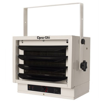 Dyna-glo 7,500-Watt Electric Garage Heater, White