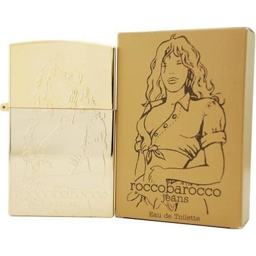Rocco Barocco Gold Jeans By Rocco Barocco For Women, Eau De Toilette Spray, 2.5-Ounce Bottle
