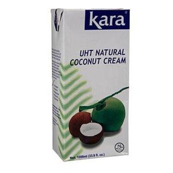 Kara UHT Coconut Cream (33.8 Oz./1000ml)