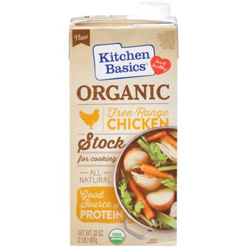 Kitchen Basics Kitchen Basics Organic Free Range Chicken Stock, 32 Fl Oz, 32 OZ (Pack of 2)