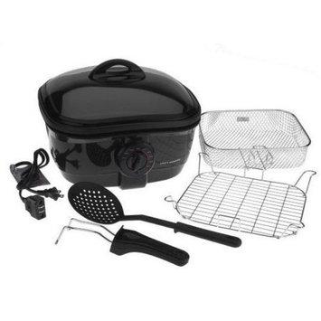 Cooks Essentials 2.5 Quart 8-in-1 Nonstick Deep Fryer and Slow Cooker