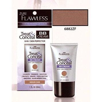 Zuri Flawless Treat & Conceal BB Cream 8-in-1 Skin Perfector - Light/Medium by Zuri
