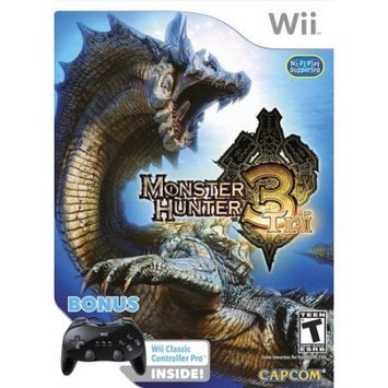 Capcom Monster Hunter Tri Bundle with Classic Controller Pro