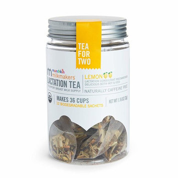 Milkmakers Lactation Tea, Lemon, 12 Count [Lemon]