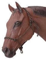 Jt International Rope Horse Halter Black 50100020 by J.T. International