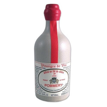 Aged Red Wine Vinegar in a Sandstone Bottle - 16.9oz