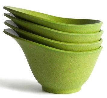 Architec Housewares Green Eco Smart Purelast Prep Bowls 4 Co