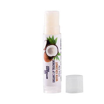 Amazon Mist Organic Coconut Lip Balm with Extreme Staying Power, Made from 100% Natural Ingredients- Natural Lip Treatment