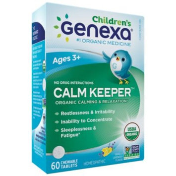 Childrens Calm Keeper - VANILLA LAVENDER (60 Tablets) by Genexa at the Vitamin Shoppe