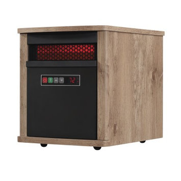 Duraflame 5,200 BTU Portable Electric Infrared Cabinet Heater Finish: Antique Pine