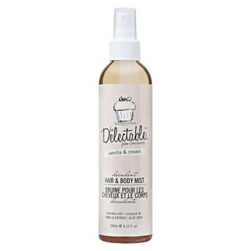 be Delectable Delectable by Cake Beauty Decadent Hair & Body Mist Vanilla & Cream - 8.12 oz