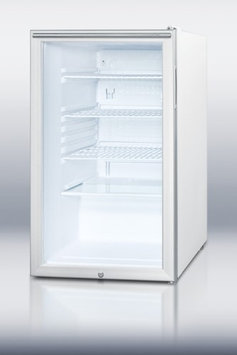 Summit SCR450L7HH 4.1 Cu. Ft. White Compact Refrigerator