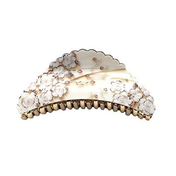 Hair Accessory - Large Flower Hair Jaw Claw Clip