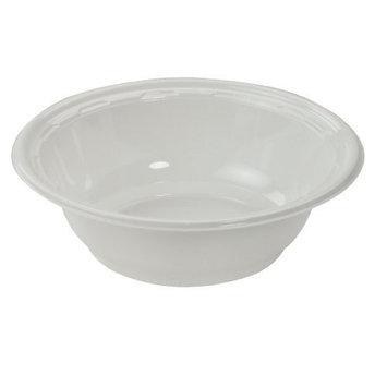 DCC12BWWF - Plastic Bowls, 10-12 Ounces, White, Round, 125/pack