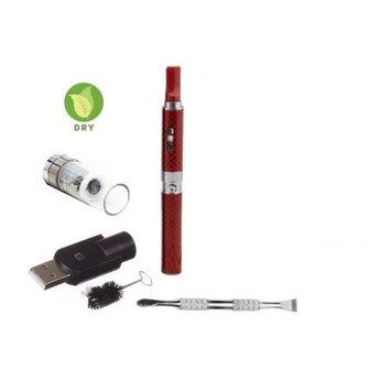 Zebra Smoke Z-Star Dry Herb Vape Pen E-Cigarette Electronic Cigarette Vaporizer For Dry Herbs 650 mah Battery Vaporizer Pen Kit (Red)